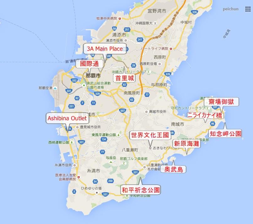 minami map